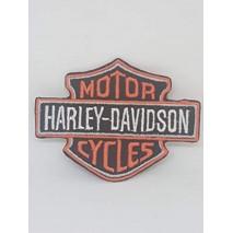 La Ruotante Patch Compatibile con Harley Davidson Motor Cycles (da Cucire)