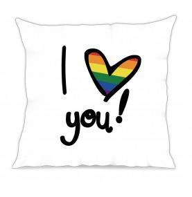Cuscino I love you pride...